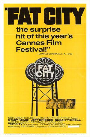 Fat City - Chansernas stad poster