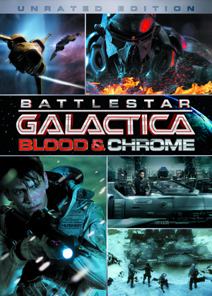 Battlestar Galactica: Blood & Chrome poster