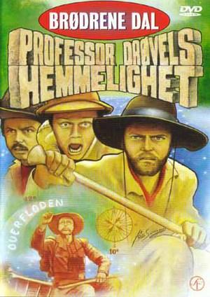Bröderna Dal och professor Drövels hemlighet poster