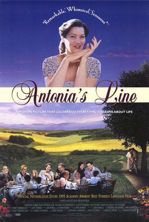 Antonias värld poster