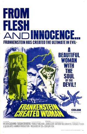 Frankensteins djävulska dotter poster