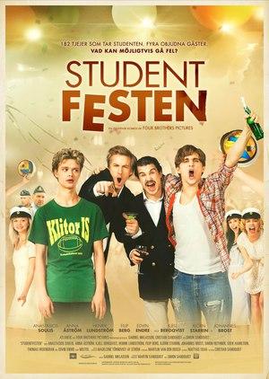 Studentfesten poster