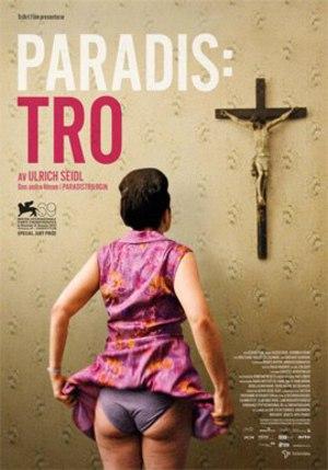 Paradis: Tro poster