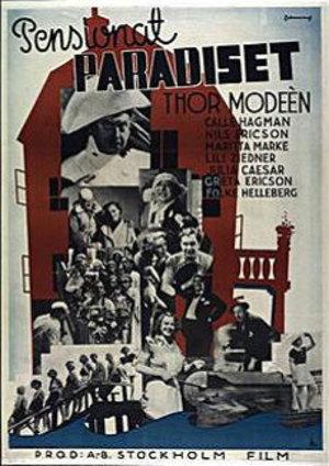 Pensionat Paradiset poster