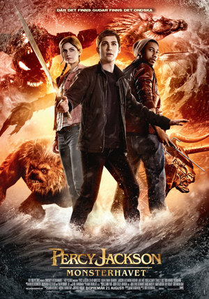 Percy Jackson: Monsterhavet poster