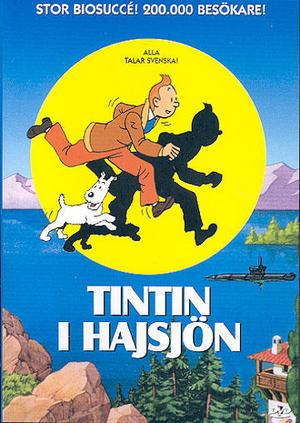 Tintin i hajsjön poster