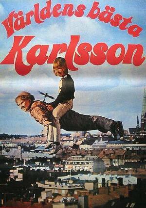 Världens bästa Karlsson poster