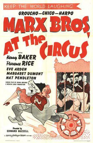 En dag på cirkus poster