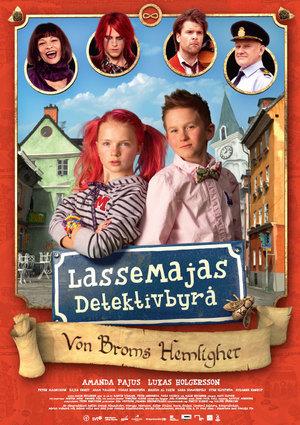 LasseMajas Detektivbyrå - Von Broms hemlighet poster