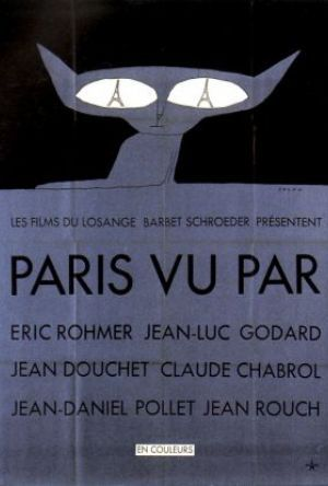 Sex ser på Paris poster