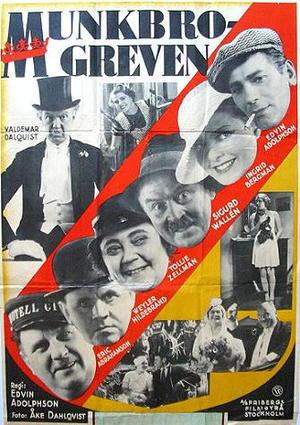 Munkbrogreven poster