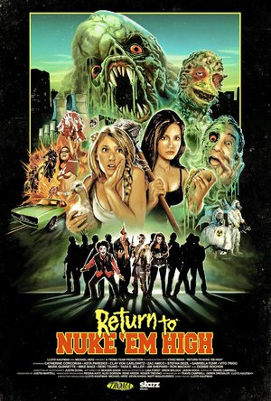 Return to Nuke 'Em High poster