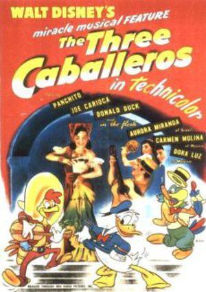 Tre Caballeros - Kalle Anka i Latinamerika poster