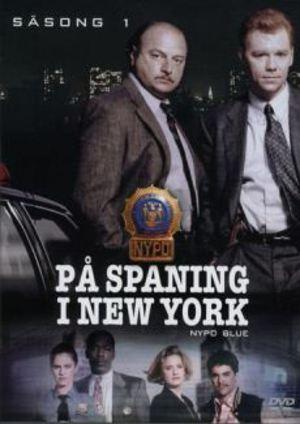 På spaning i New York poster
