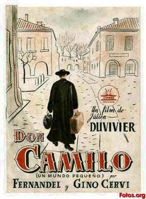 Don Camillo och hans lilla värld poster