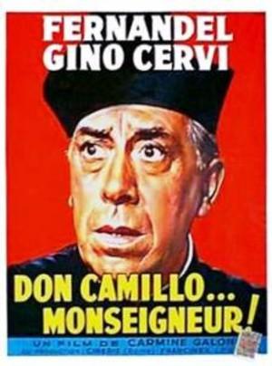 Don Camillo ser rött poster