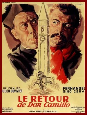 Don Camillos återkomst poster