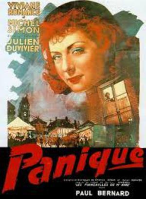 Panik poster