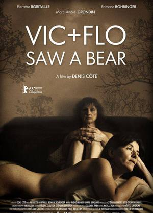 Vic + Flo Saw a Bear poster
