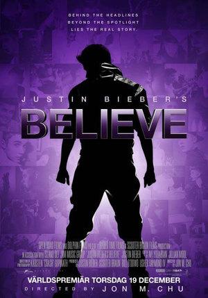 Justin Bieber's Believe poster