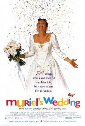 Muriels bröllop poster