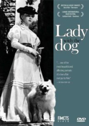 Lady with the dog poster