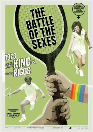 The Battle of the Sexes poster