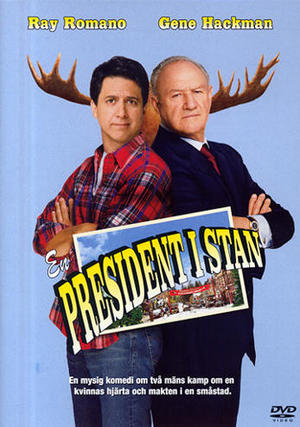 En president i stan poster