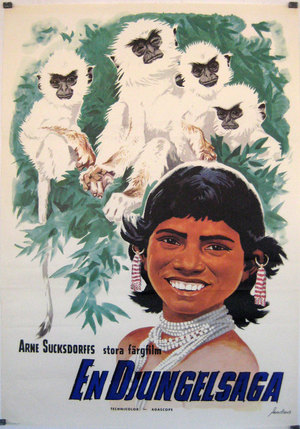 En djungelsaga poster