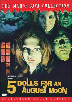 5 Dolls for an August Moon poster