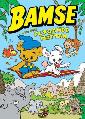 Bamse och den Flygande Mattan poster