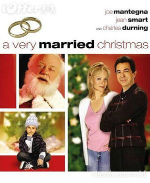 A Very Married Christmas poster