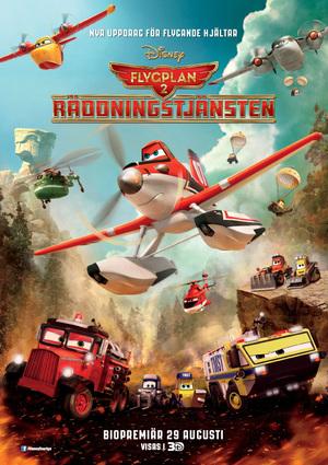 Flygplan 2: Räddningstjänsten poster